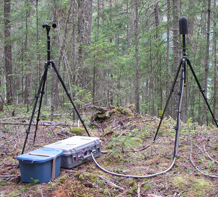 Acoustic Monitoring in North Cascades National Park Complex